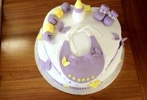 Battesimo / Ispirazioni per decorazioni di dolci e torte per battesimi di bimbi e bimbe.  Strumenti, idee e suggerimenti su www.decorazionidolci.it