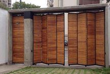 Puertas modernas y plegables