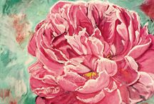 Flower paintings by Jeanette MacDonals