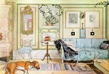 Carl Larsson / Carl Larsson (1853 – 1919)  Swedish painter and interior designer, representative of the Arts and Crafts Movement.