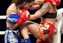 Muay Thai  / Trained under this amazing inspirational fighter. She is the 1 and only miss Julie kitchen.