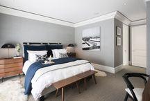 寝室、ゲストルーム