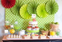 1st Birthday Party / The very hungry caterpillar