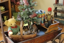 Vintage Christmas Merchandising
