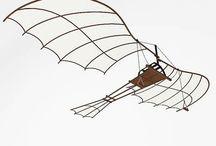 DaVinci flying machines