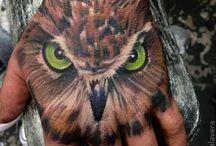Tier Tattoos / Schmetterlinge, Delfine, Adler, Pferde und mehr… Tier Tattoo Designs können in jeder Größe und Form hergestellt werden.