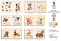 Animal Friends / Fabric and padded books for the littlest among us. / by Material Mart