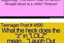 Teen fun quotes