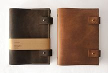 notebook leather / notebook