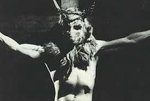 CRUCIFIXION HALLOWEEN // 28.Oct.2017 // Paradoxe Theatre, Montreal, QC / Outfit inspiration for Cirque de Boudoir's Crucifixion Halloween. Ideas include: demons, the devil Satan, evil nuns and priests, witches, warlocks, dark Halloween costumes, latex, leather, cloaks, masks, horns...