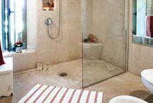 Casa de banho com cabine