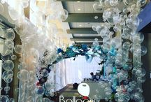 Under the Sea Balloon Decor / Under the Sea balloon decor is a classic and popular party theme for children and companies alike.  Here are some ideas for your next event!  Want more? Visit www.balloonsbytommy.com