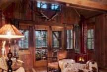 Cozy 80s Aspen Cabin / Inspiration for my 850 Sq. Foot Makeover