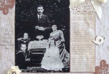 Heritage Scrapbook Pages