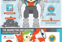Infographics : Digital Marketing / Infographics are one of the best ways to express an idea and attract traffic. This board is a collection of all such interesting & informative infographics.