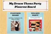 Party themes with drinks / by Trudy Button