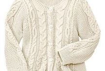 cabled cardi