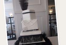 Large celebration / wedding cakes