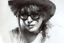 Inspirational Drawings / Drawings that inspire me
