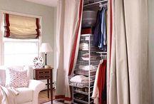 Closets / Closet organization