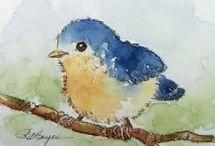 paint bird