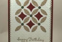 Card Inspiration - Quilt