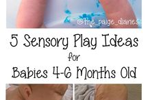 Sensory Play / Sensory play ideas for babies and toddlers