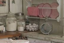 Country home and kitchen