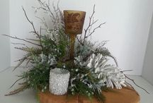 winter decorations / by Denise Barrows