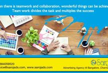 Creative Ad Agency in Delhi / When there is team work and collaboration,wonderful things can be achieved.