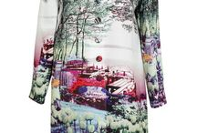 Mary Katrantzou l'oeil digital prints SHOP online / Mary Katrantzou is a champion of trompe l'oeil digital prints. Shop online hyper-realistic, richly innovative, boldly coloured prints. I recommended to buy from BrownFashion