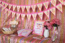 Chi Chai Monchan Pink Monkey Birthday Party