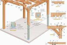 Selber bauen im Garten / Bauanleitungen und Ideen für den Garten