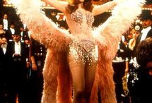 All That Glitters is Gold / Burlesque, show girls, pink, feathers, ultimate glamour.