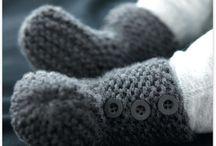 Tricot chausson bb bottes