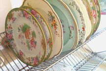 Vintage china dishes / by lady rosa