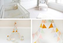 KIDS ROOM / NUSERY IDEAS / Bunting is the perfect way to add colour and detail to your childs room.