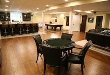 BBB Rec Room / Poker night, Pictionary tournaments or the Superbowl- Your basement will be the 'go-to' place for every game night