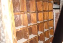 FIJO A CUADRITOS / Mueble que puede tener muchos usos dejando volar su imaginación para darle un toque distinto a su decoración.