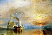 Joseph M. William TURNER / One of the finest landscape artists was Joseph Mallord William Turner was born in London, England, on April 23, 1775. Although known for his oils, Turner is regarded as one of the founders of English watercolor landscape painting.