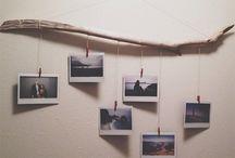 colgar fotos pared ideas