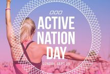 """ACTIVE NATION DAY - #yourmovematters / Lorna Jane Clarkson has been advocating Active Living for over 20 years and launched Active Nation Day in 2012 – A day that stops the nation and asks the question """"Are we doing enough?""""  Active Nation Day on Sunday September the 25th is your chance to do something – show your family, friends and the world that Moving Matters to you. MAKE YOUR MOVE MATTER - register via www.activenationday.com!"""