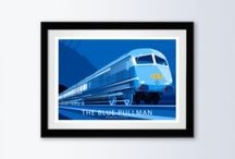 Stephen Millership Speed prints, mugs magnets and other products. / A collection of transport related illustration that capture the sensation of speed, inspired by the golden age of Travel Posters. Now for sale at Redbubble and Athena. https://www.redbubble.com/people/smillership?asc=u https://athenaart.com/product-category/stephen-millership/