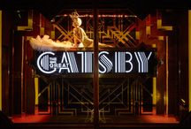 JUSTSO & The Great Gatsby / The Great Gatsby - Harrods Window Display