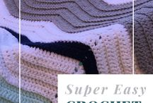 one stitch chevron blankie