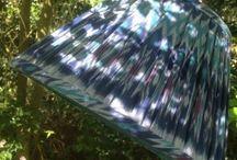 English Handmade Lampshades / The beauty of handmade individual lampshades.