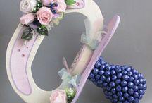 Prezenty/dekoracje ze słodyczy