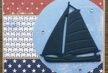 Zeilboot creatable kaarten