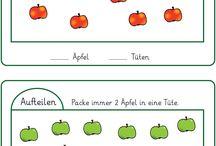 Vorschule Kindergartens Zahlen