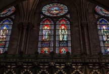 Kerken / Foto's van kerken, binnen en buiten